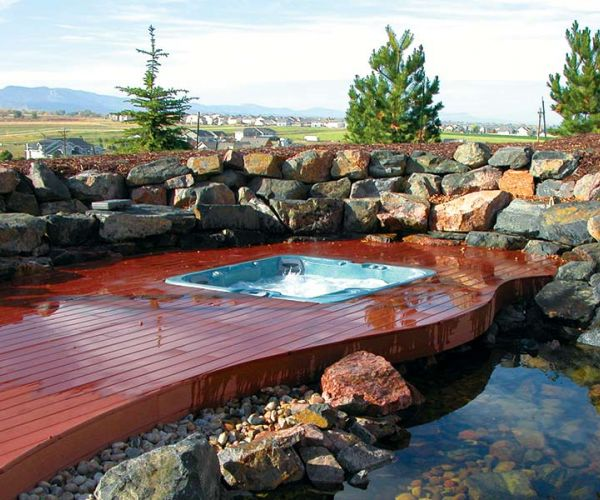 Installation Sundance Spa Inspiration Jackson Hole