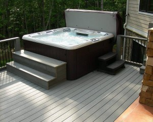 Optima Sundance Spas hot tub.